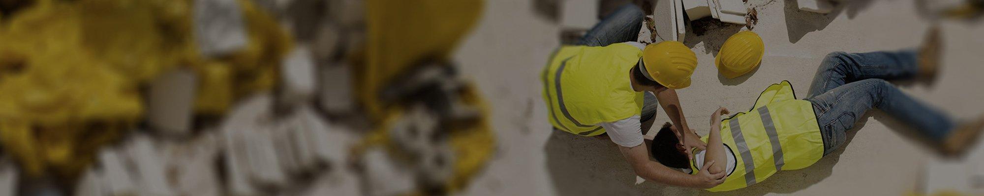 construction worker hurt on jobsite
