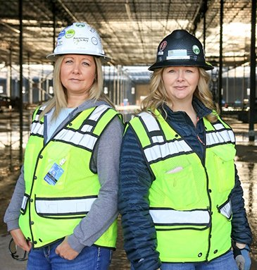 company owners Jill Shupe and Chelly Heninger